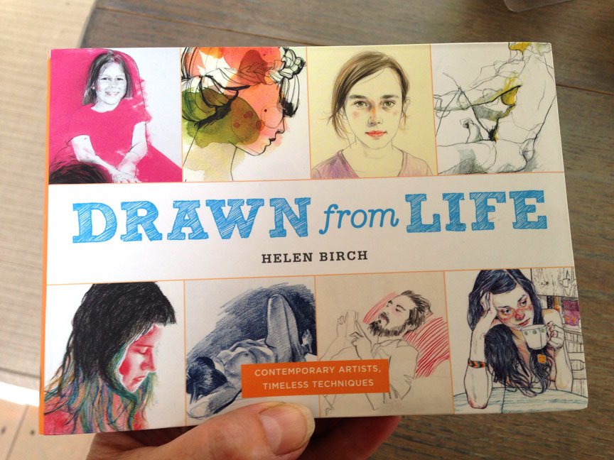 Happy to be included in this wonderful book 'Drawn From Life' by Helen Birch